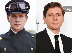 Allen Leech as Tom Branson from Downton Abbey Stars In and Out of Costume  Downton Abbey's third season kicks off on Jan. 6, so take a look at your fave characters in and out of their period costumes.