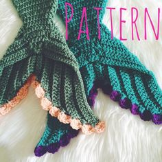 Baby Mermaid Crochet Pattern Newborn Size Mermaid by BeauAmour