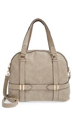 Sole Society 'Tristan' Vegan Leather Bowler Bag   Nordstrom
