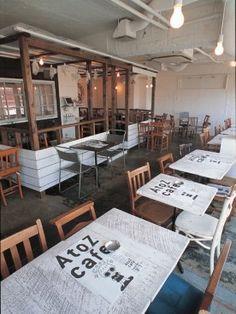 A to Z cafe(Omotesando,Japan)