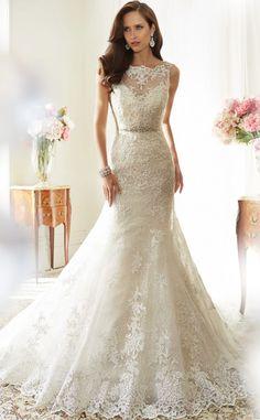 Courtesy of Sophia Tolli Wedding Dresses; Wedding dress idea.