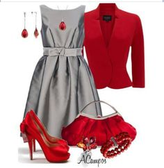 Christmas party dress ~