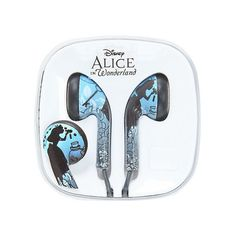 Disney Alice In Wonderland Earbuds Hot Topic ($10) ❤ liked on Polyvore featuring accessories and disney