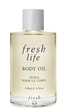Fresh Life body oil is formulated with a luxurious blend of skin-soothing oils and extracts to provide 24-hour moisture to your skin while restoring suppleness and softness.