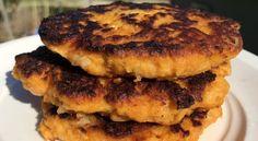 La meilleure recette de burgers à la patate douce et haricots blancs Baby Led Weaning, Salmon Burgers, Hamburger, Ethnic Recipes, Food, Meal, Eat, Garlic Powder, White Beans