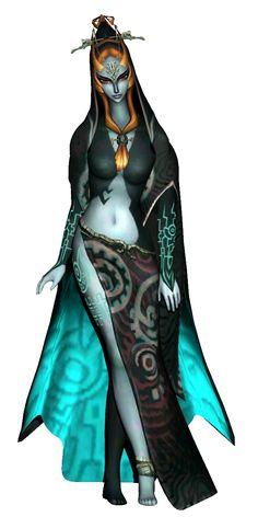 Princess Midna (true form) - Legend of Zelda: Twilight Princess