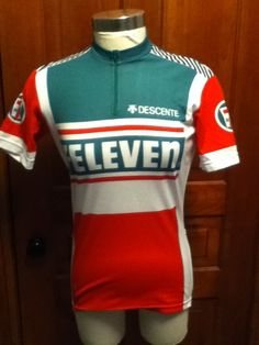 a19cd0bac Vintage 7 ELEVEN SEVEN ELEVEN Cycling Art