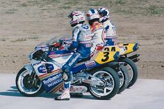 Doohan, Schwantz and Gardner Grand Prix, Gp Moto, Motorcycle Images, Classic Motorcycle, Side Car, Old Bikes, Racing Motorcycles, Super Bikes, Road Racing