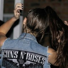 Guns N' Roses jean vest~ someone get me this vest. It is so perfect! Guns N' Roses is so awesome!