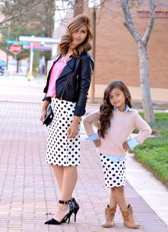 Custom Made To Order Women's Pencil Skirt,  Off White and Black Polka Dots on Etsy, $32.00