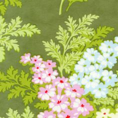 Items similar to Heather Bailey Fabric, Picnic Bouquet in Moss, Nicey Jane Collection, 1 Yard on Etsy Fabric Design, Pattern Design, Laminated Cotton Fabric, Heather Bailey, Vintage Floral Fabric, Textiles, Vintage Green, Background Patterns, Craft Supplies