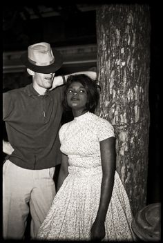Interracial dating in the 50s