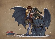 Wait, this is so CUUUUTE!!! And Toothless' face!!! He is SO done with astrid cutting into his guy time.