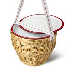 picnic / esmaltado y tejido