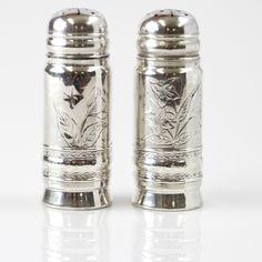 "Genuine Sterling Silver 1 1//4/"" Inch Mini Salt Shaker Silverware Flatware 58"