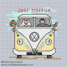 Maria Diaz Designs: Wedding Camper Van