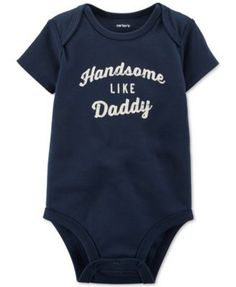 Carter's Baby Boys' Short-Sleeve Handsome Bodysuit