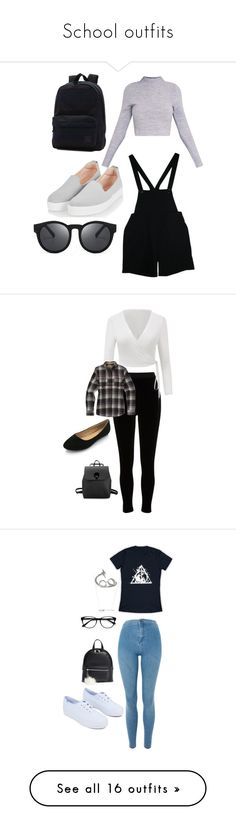 """""""School outfits"""" by aliyahbonilla on Polyvore featuring American Apparel, Topshop, Vans, River Island, Burton, Alex and Ani, Nimbus, Keds, BP. and EyeBuyDirect.com"""