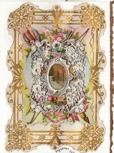 Gilded Days: Victorian Valentines