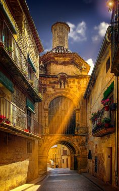Calaceite, village in Aragon,  Spain