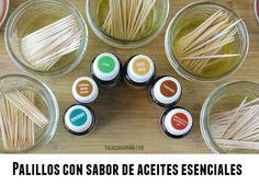 Palillos de aroma con aceites esenciales