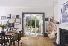 French Doors Patio, Patio Doors, French Patio, Jeld Wen Doors, External French Doors, Door Sets, Create Space, Grey Paint, White Paints
