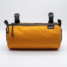 TUFA Bartender Cycling Handlebar Bag Marigold | Etsy Cycling Bag, Three Fold, Gym Mats, Bike Bag, Sailing Outfit, Waxed Canvas, Custom Bags, Branding, Bartender