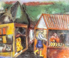 Marc Chagall - The Bread Seller