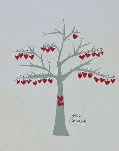 family heart tree. love it.