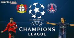 Bayer Leverkusen v Paris Saint-Germain   MATCH ODDS  Leverkusen 11/5, draw 23/10, PSG 5/4