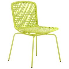 Cheap But Kinda Cool In A Lime Mesh Sort Of Way. Green Mesh Outdoor Chairs