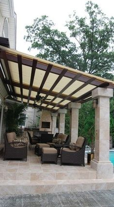 #backyardideas #Pérgola #shades