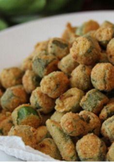The Best Fried Okra
