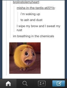 this is so perfect. That puffball named Katie from Horton Hears a Who :)  FLAWLESS