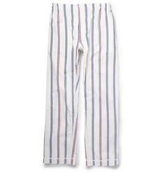 Sleepy Jones Regimental Striped Cotton Pyjama Trousers