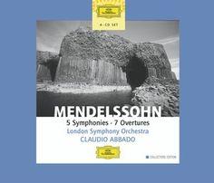 MENDELSSOHN 5 Symphonien etc. - Abbado - Deutsche Grammophon