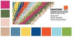 Самые модные цвета Весна — Лето 2017 - PANTONE Fashion Color Report Spring 2017