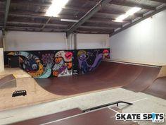 Indoor Skate Park   Grom Town Indoor Skatepark