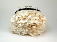 Image detail for -romantic-bridal-clutch-ivory-roses-wedding-accessories Rose Wedding, Wedding Day, Wedding Stuff, Dream Wedding, Bridal Handbags, Ivory Roses, Bridal Clutch, Bridesmaid Hair, Bridesmaids
