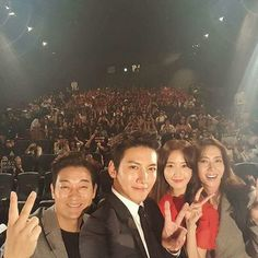 The K2 casting- Jo sung ha, jichangwook, yoona, song yooAh