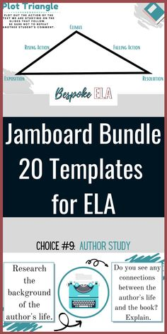 Jamboard through Google Classroom has become a cornerstone tool in my virtual English classes. Since many of us are teaching virtually or at least have some students online, we can use Jamboard much in the same way as a white board or chalkboard in the classroom. Jamboard makes a great tool for brainstorming, class discussion, categorizing information, and more. Great for #middleschool and #highschool #EnglishLanguageArts. Reading Workshop, Reading Skills, Writing Skills, Rhetorical Device, Mentor Sentences, 21st Century Classroom, High School English, Author Studies, English Classroom