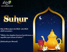 #Ramadan  #Suhur  #Bendiciones #Islam