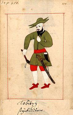 Rålamb Costume Book, Topçu - Ottoman Army (15th-19th centuries)