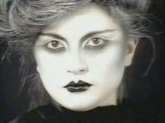 """Visage """"Fade to Grey"""" makeup Richard Sharah"""