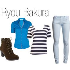 """Ryou Bakura"" by brittany-coughlin on Polyvore"