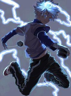 Tags: Anime Hunter x Hunter Killua Zoldyck Skullcaps Manga Anime, Fanarts Anime, Anime Art, Manga Girl, Hunter X Hunter, Hunter Anime, Hunter Fans, Monster Hunter, Killua