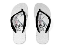 a0f5c99f7d4d 27 Best Personalized flip flops images