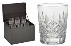 The Waterford Lismore pattern is a stunning combination of brilliance and clarity. Scotch and soda, or Bourbon and branch water look and taste fantastic in these intricately detailed Double Old Fashioned glasses; the perfect addition to any bar set.