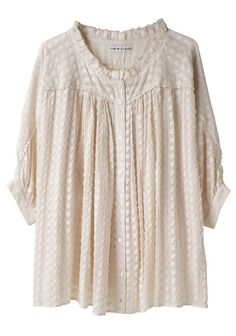 Mushroom blouse