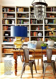 dining and library combined. omg, omg, omg.my two favorite